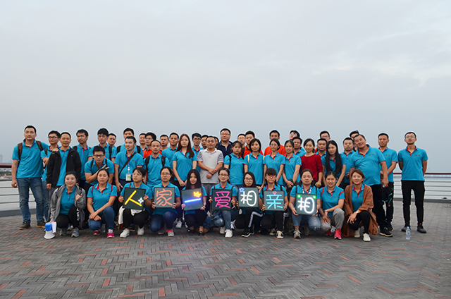 Theme of the event: Double Ninth Festival, let us partner with each other, walking 9.8 kilometers!